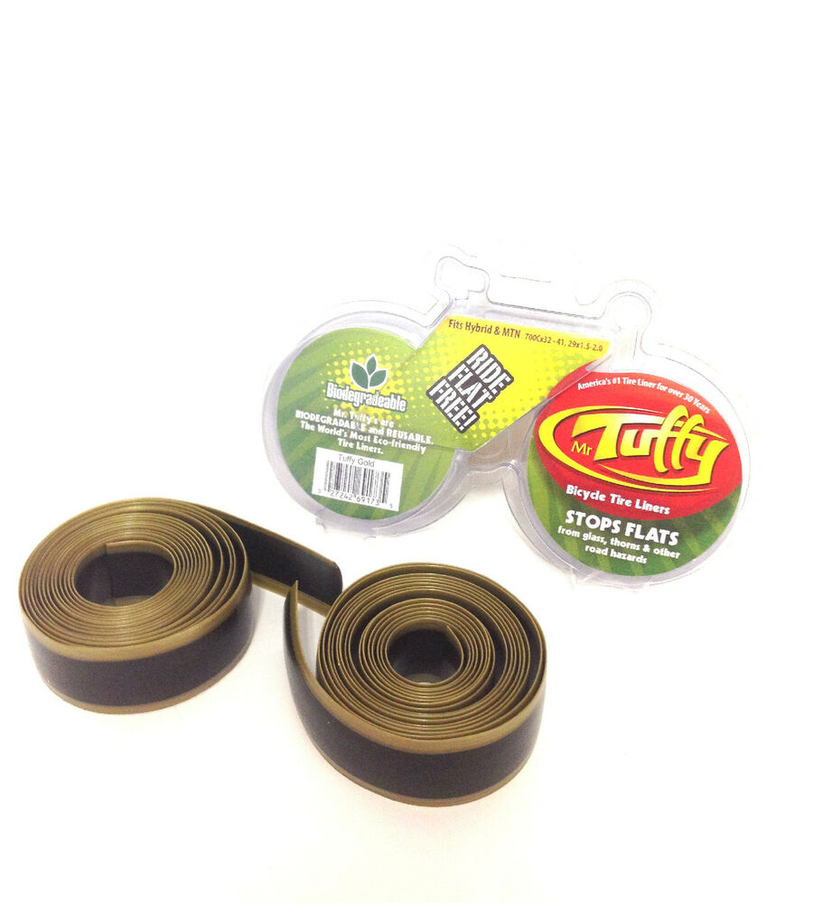 Mr tuffy bicycle tire liner gold 700c x 32 41 29x1 5 2 ebay Liner 5 50 x 1 32