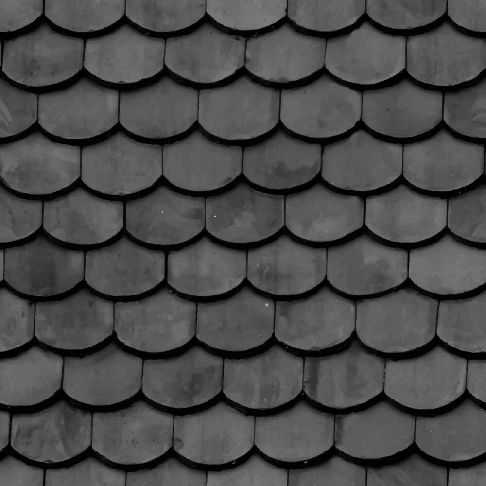 4 Sheets A4 Tile Roof 1 24 Scale Vinyl Paper Self Adhesive