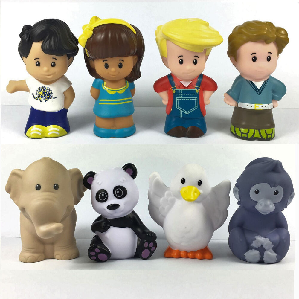 Pricing People: 8pcs Fisher Price Little People Sweet Family & Zoo Animal