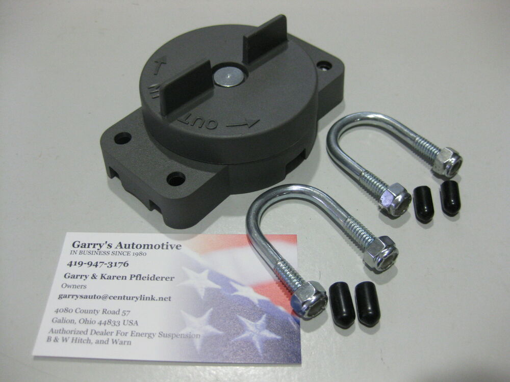 WARN 36015 ATV Quad Rotary Butterfly Switch Control Winch A2000
