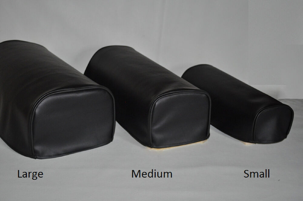 Black Pair of Faux Leather Antimacassar Chair Sofa Arm Cap ...