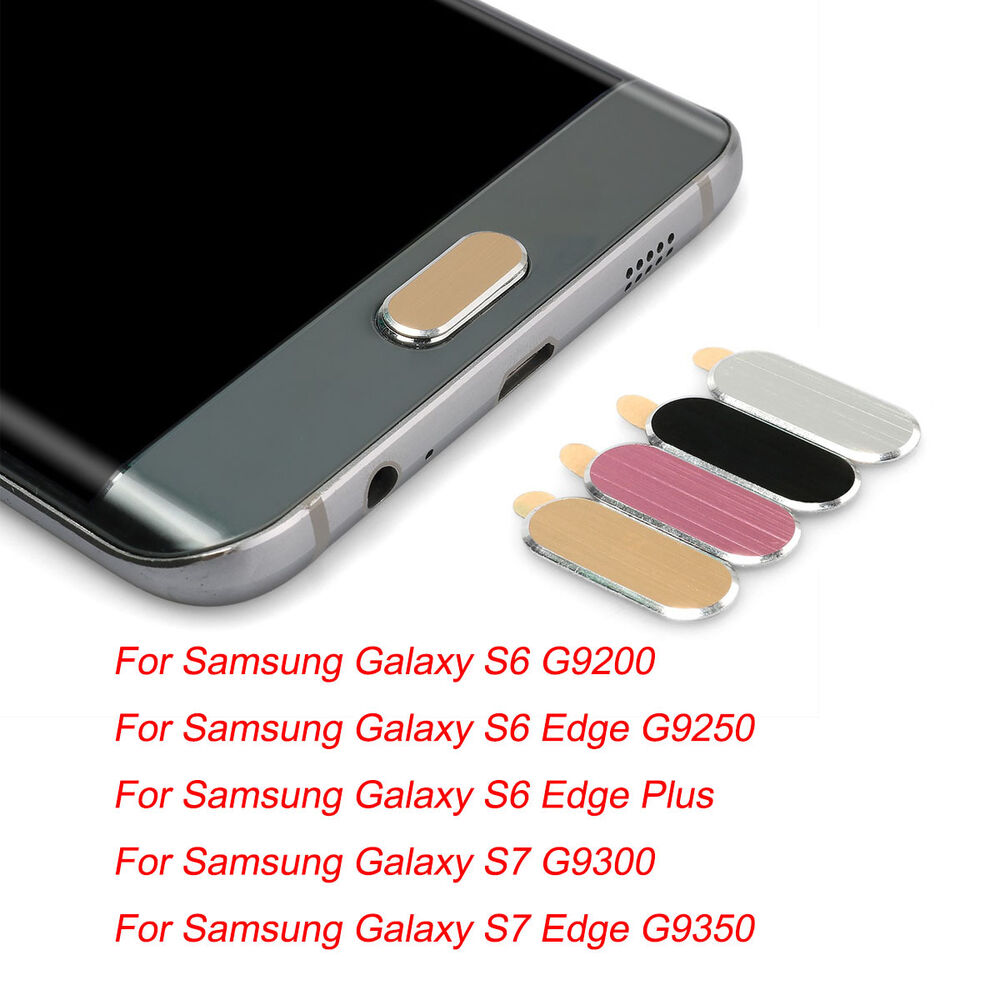 metal wire drawing home button protect stickers for. Black Bedroom Furniture Sets. Home Design Ideas