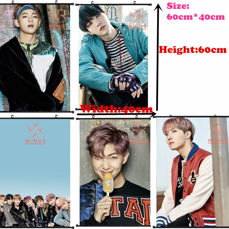 KPOP BTS You Never Walk Alone Wall Hanging Poster Bangtan