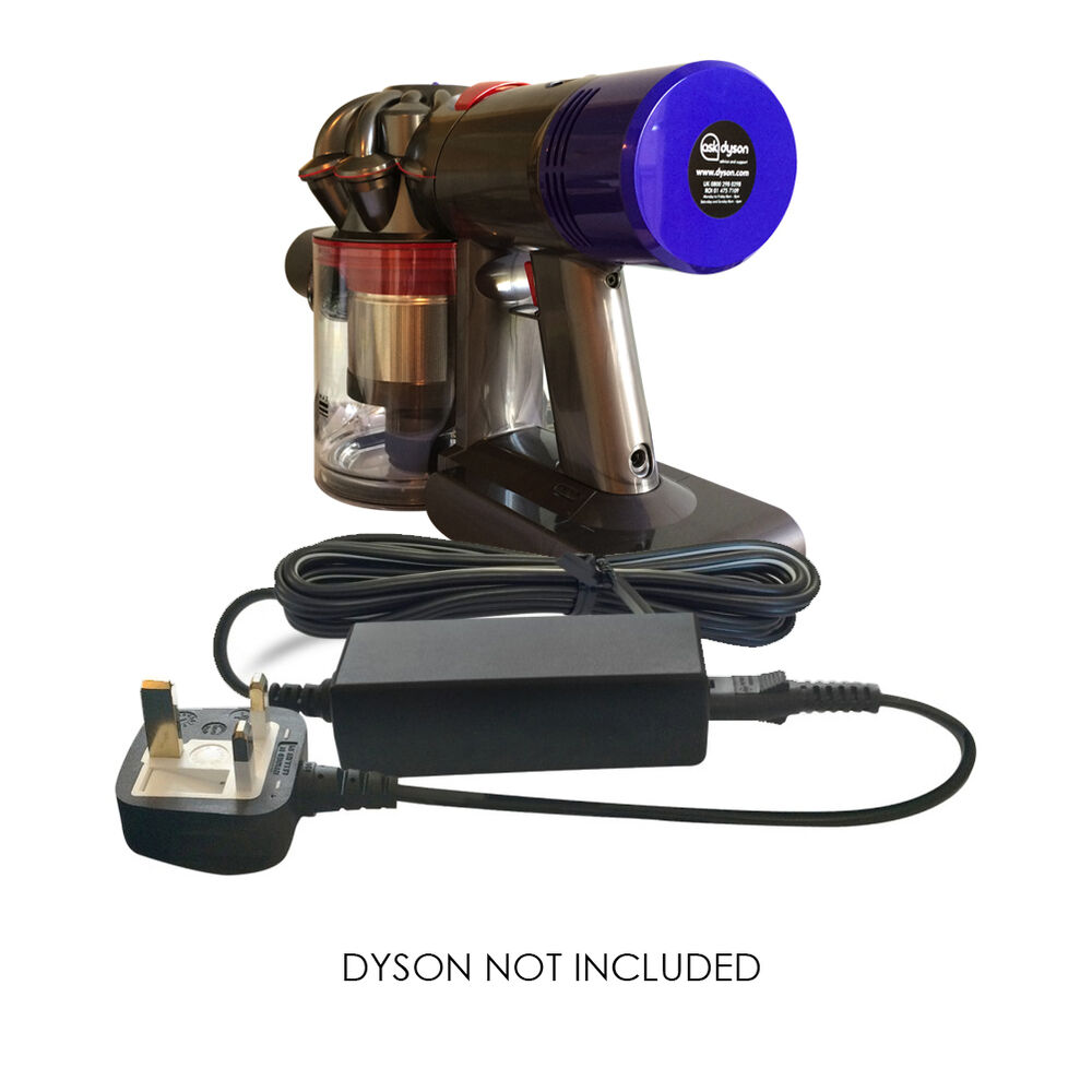 replacement dyson handheld cordless vacuum hoover battery charger adapter plug ebay. Black Bedroom Furniture Sets. Home Design Ideas