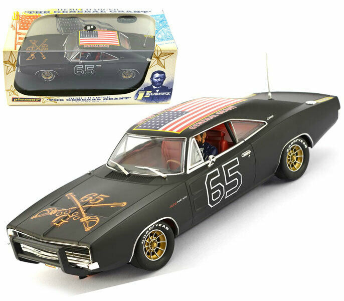 Pioneer Dukes Dodge Charger General Grant Scalextric Slot