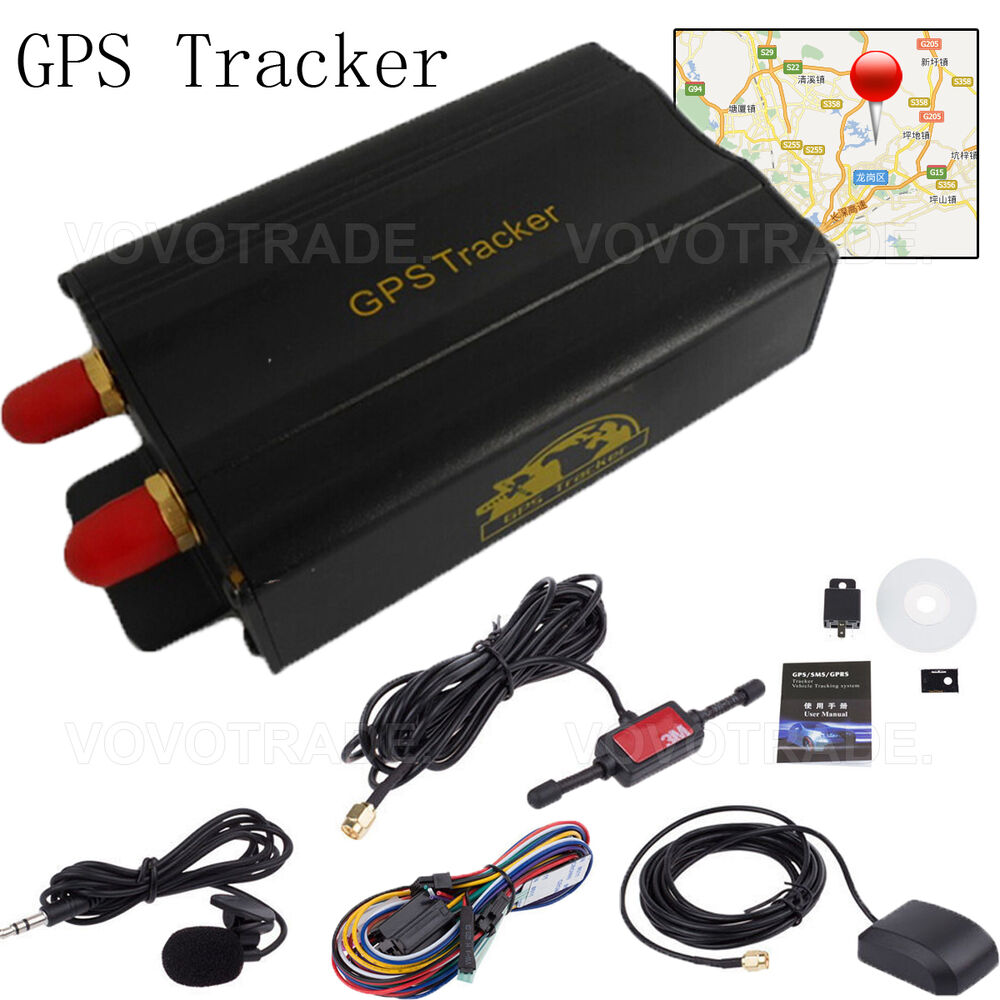 tk103a vehicle car gps sms gprs tracker real time tracking. Black Bedroom Furniture Sets. Home Design Ideas