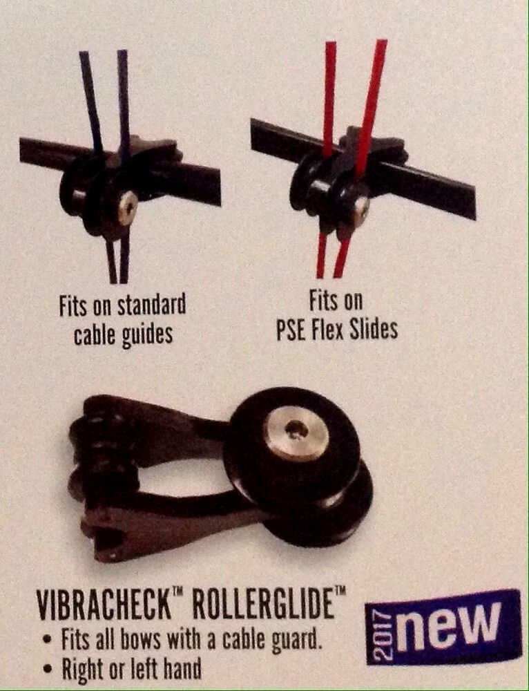 New Pse Archery Vibracheck Rollerglide Roller Glide Cable
