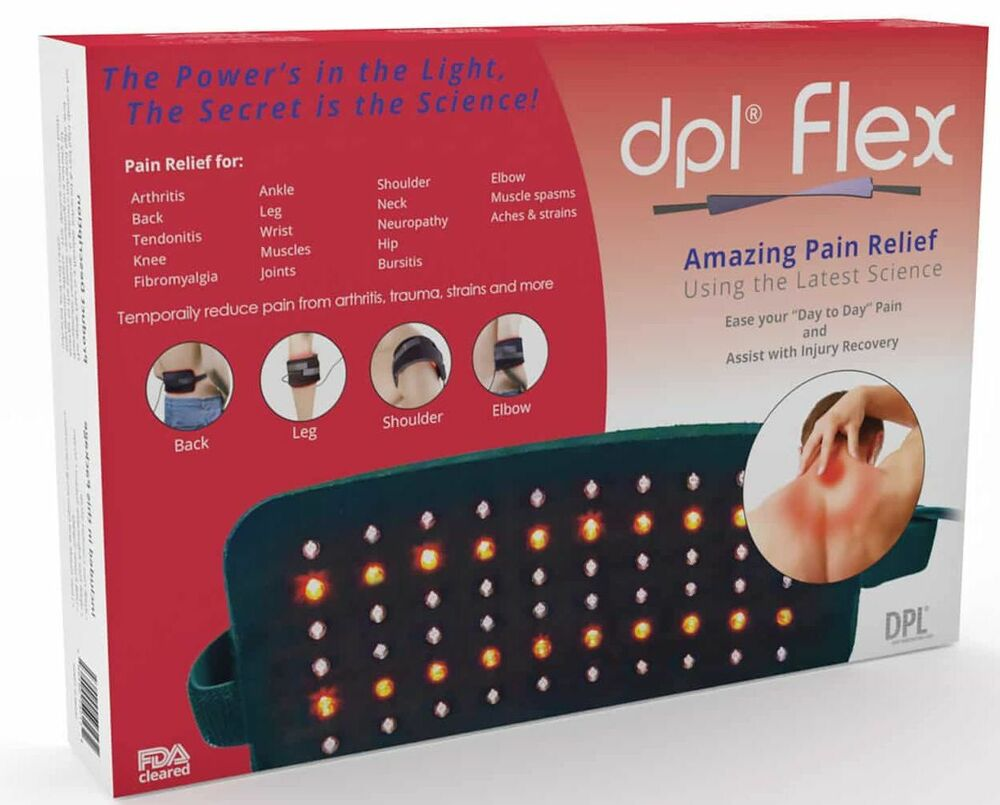 Dpl Flex Pad Pain Relief Led Light Therapy Wrap System