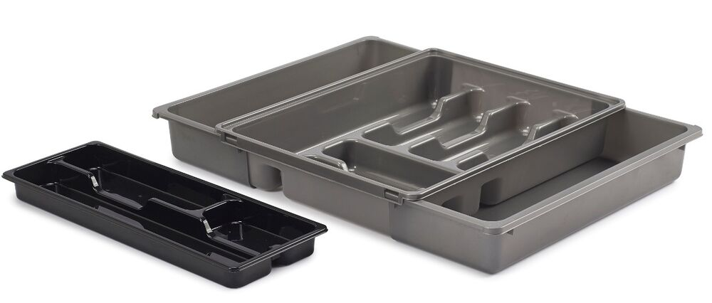 Adjustable Expanding Drawer Organiser Cutlery Tray With