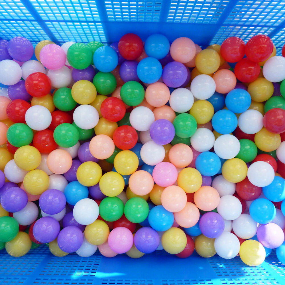 Plastic Toy Balls : Pcs colorfulball ocean balls soft plastic ball