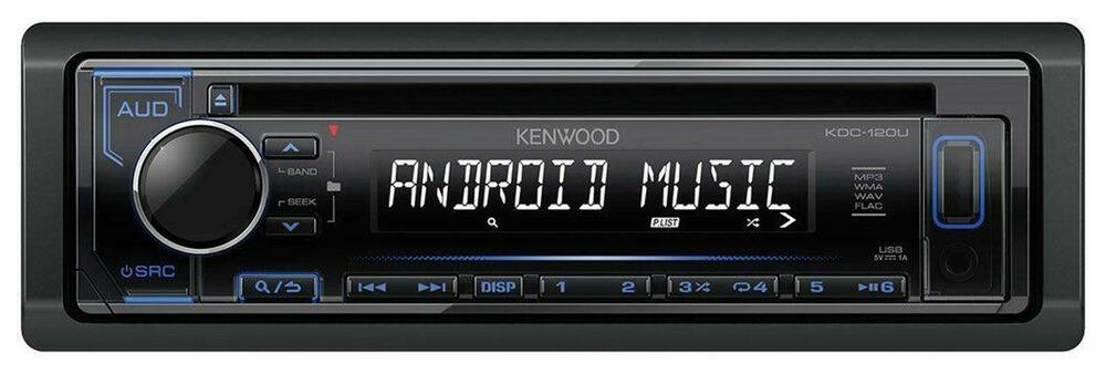 kenwood kdc 110ub 120ub cd mp3 autoradio mit usb aux. Black Bedroom Furniture Sets. Home Design Ideas