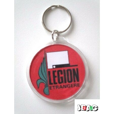 img-PORTE CLES KEY RING LEGION ETRANGERE FOREIGN LEGION FRANCE 45 mm