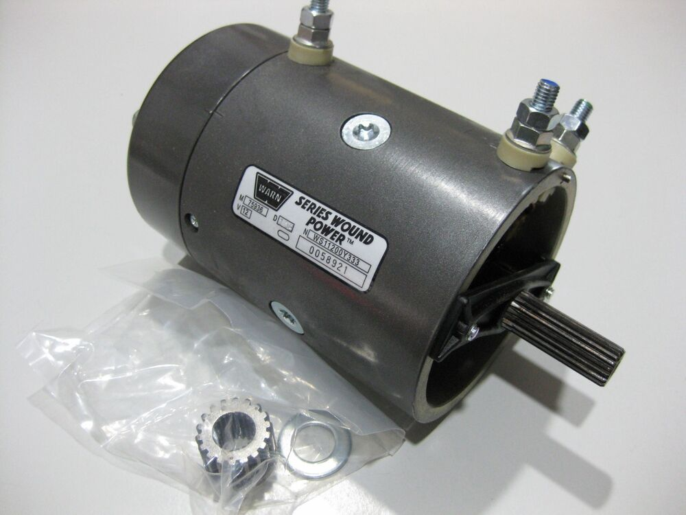 Genuine Warn 7536 New Replacement 12 Volt Electric Winch