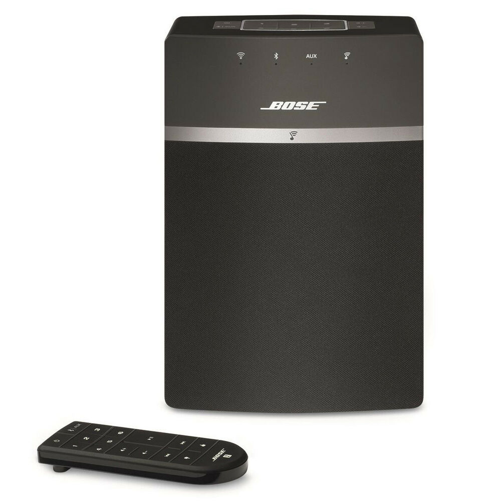 bose soundtouch 10 wireless music system ebay. Black Bedroom Furniture Sets. Home Design Ideas