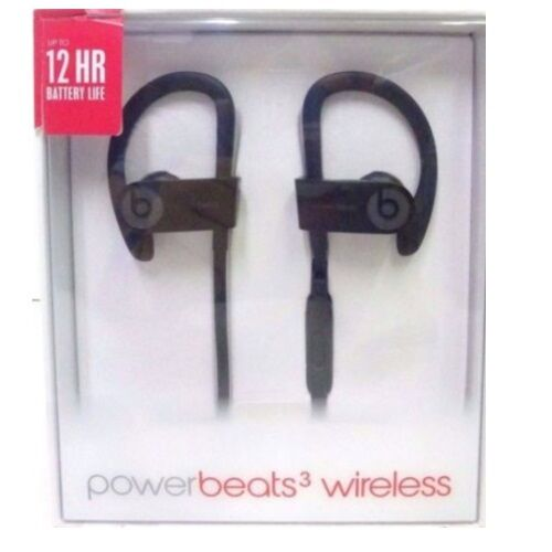 Beats By Dr Dre Powerbeats 3 Black Wireless In Ear Earbuds Bluetooth Headphones 848447000227 Ebay