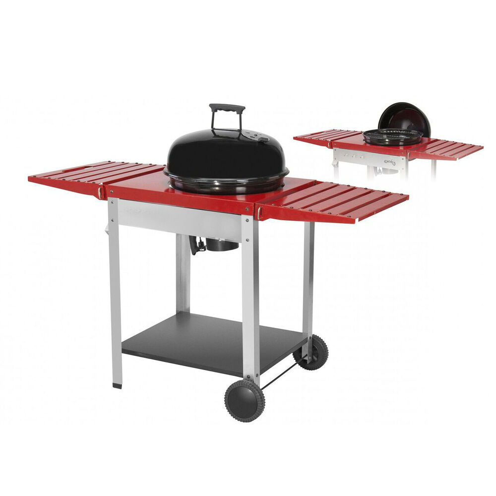 deluxe xxl kugel grill holzkohle grill bbq mit. Black Bedroom Furniture Sets. Home Design Ideas