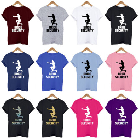 img-BRIDE SECURITY, PERSONALISED HEN DO / NIGHT T SHIRTS HEN PARTY T Shirt Tee Top