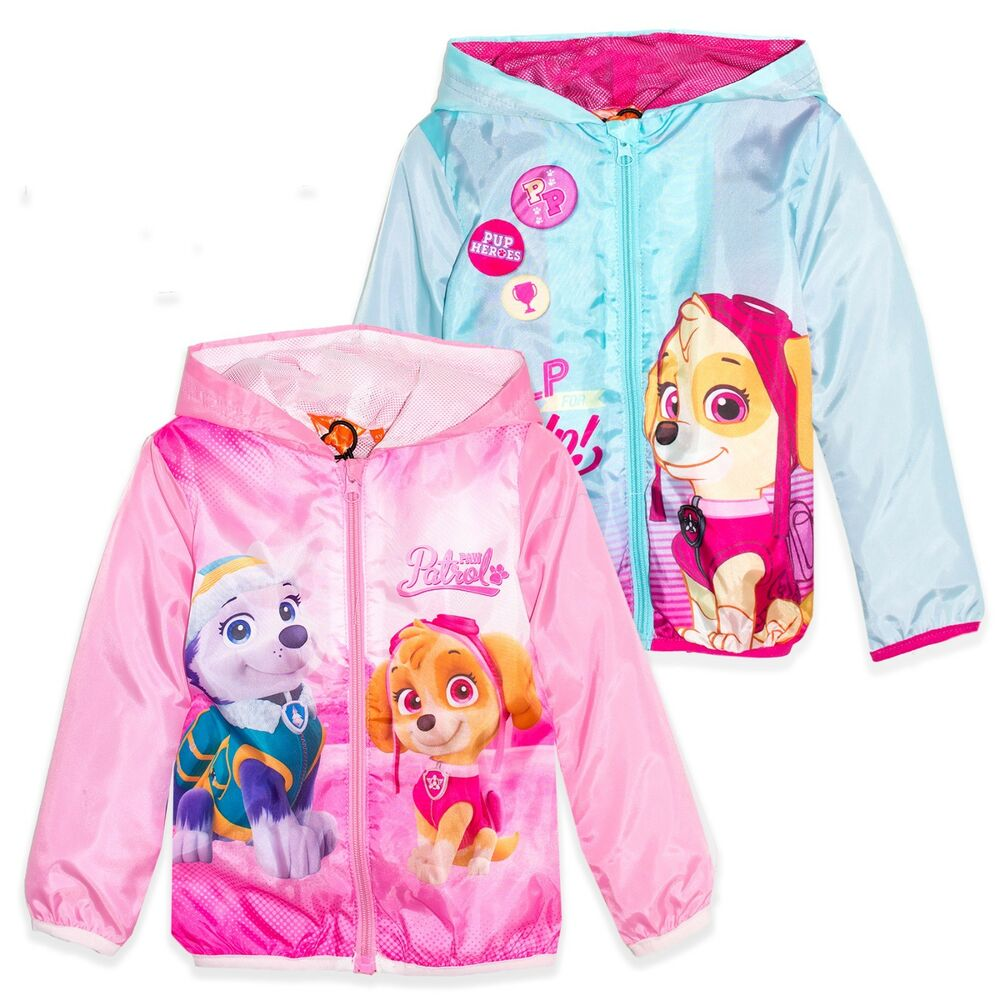 72385fd56fc9 Paw Patrol Girls Hooded Light Waterproof Raincoat Spring Summer ...