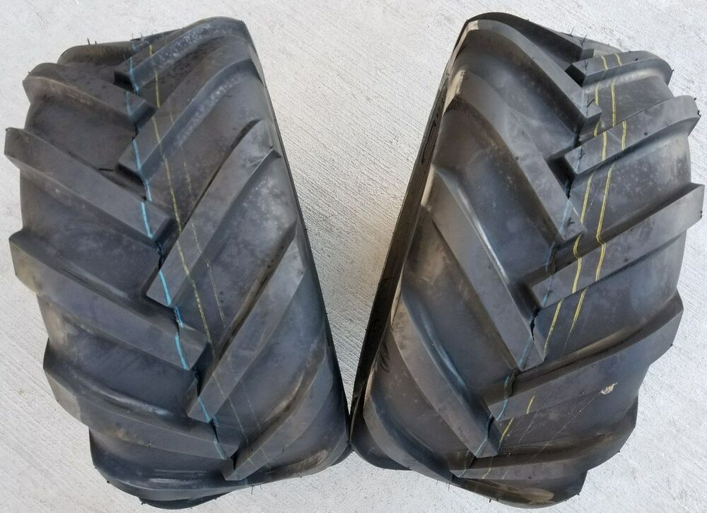 2 deestone 4p super lug tires ag ds5245 free - Garden tractor tires 23x10 50 12 ...