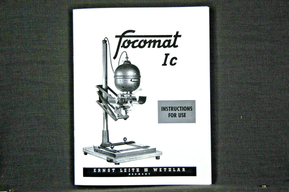 1b coloring pages | Focomat 1c & 1B enlarger manual 38 pages largest and best ...