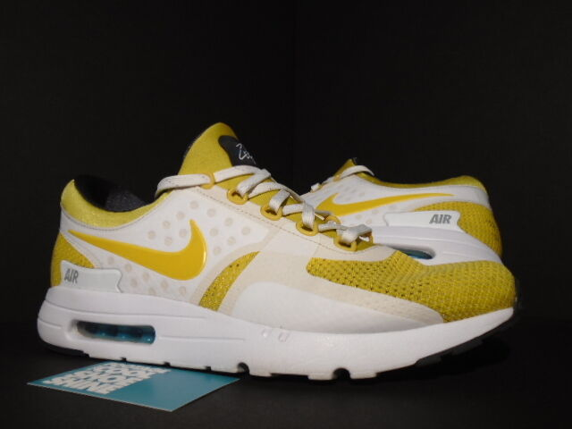 check out 9a5e3 bbd43 Details about Nike Air Max ZERO 0 QS DAY WHITE VIVID SULFUR YELLOW SPACE  BLUE ANTHRACITE 11.5