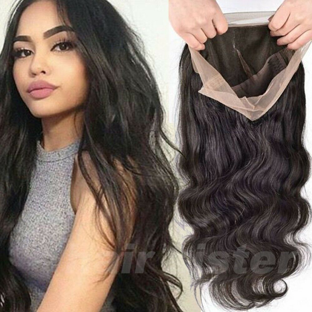 8a 1b Pre Plucked Indian 360 Lace Front Wig Silk Top Full
