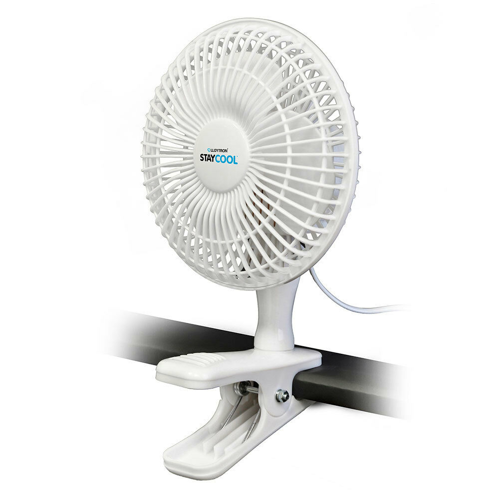 Lloytron F1001 Stay Cool 6 Quot 15cm Large Clip Fan With 2