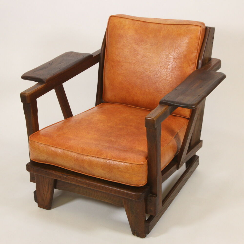 old hickory american provincial chair 1950 rustic modern martinsville indiana ebay. Black Bedroom Furniture Sets. Home Design Ideas