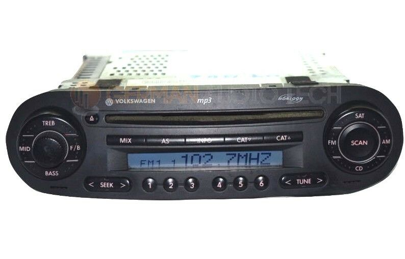 Volkswagen Vw New Beetle Bug Cd Player Radio 1998 1999 2000 2001 2002 2003 2004
