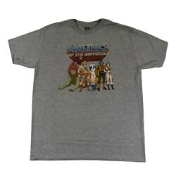 Masters Of The Universe Mens He-Man, Battle Cat, Man-At-Arms Shirt New L,XL