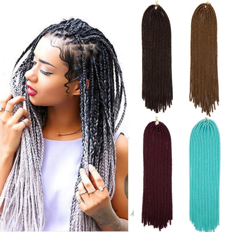 Ombre Synthetic Crochet Twist Braiding Soft Dreadlocks