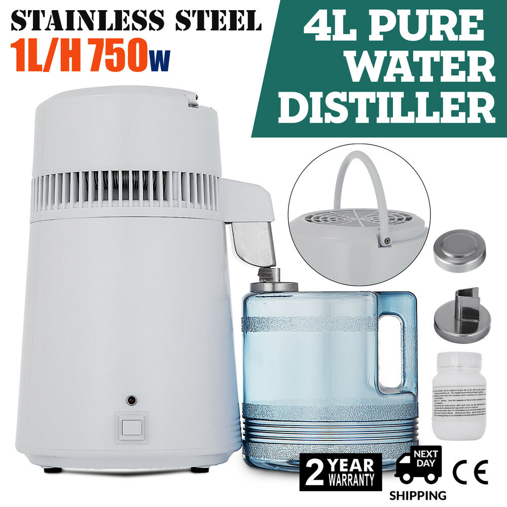 Distiller Water Purifier 4l All Stainless Steel Internal