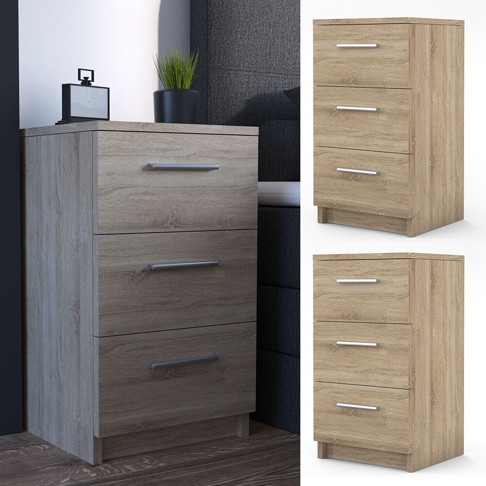 vicco nachtkommode boxspringbett 2 er set nachtschrank. Black Bedroom Furniture Sets. Home Design Ideas