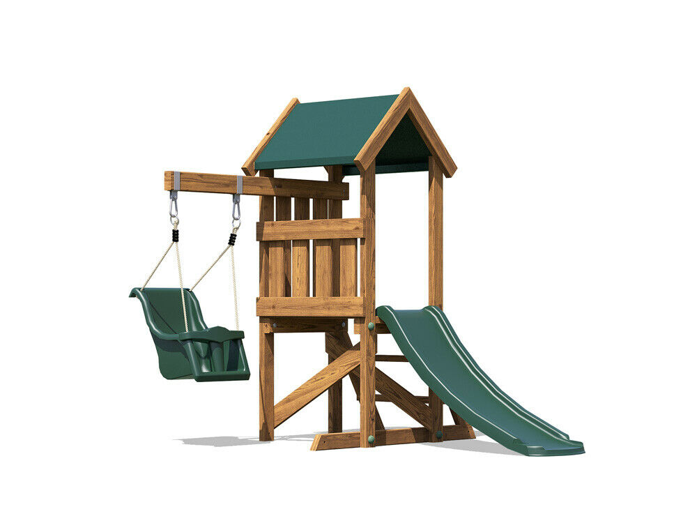 wooden toddlers outdoor climbing frame baby swing. Black Bedroom Furniture Sets. Home Design Ideas
