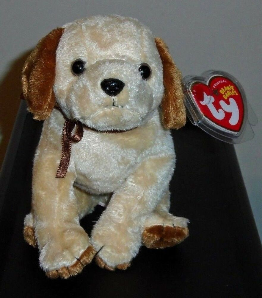 2d26d151bc7 Ty Beanie Baby ~ BADGES the Dog (5 Inch) MWMT