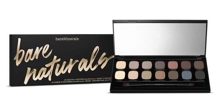 BARE ESCENTUALS bareMinerals * READY Bare Naturals * 14.0 Eyeshadow Palette NEW  | eBay