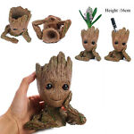 "Guardians of The Galaxy Vol. 2 Baby Groot 7"" Figure Flowerpot Style Toy Gift USA"