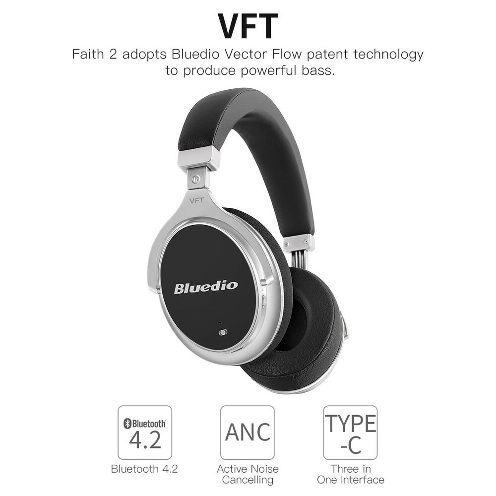 bluedio f2 bluetooth 4 2 active noise cancelling wireless. Black Bedroom Furniture Sets. Home Design Ideas