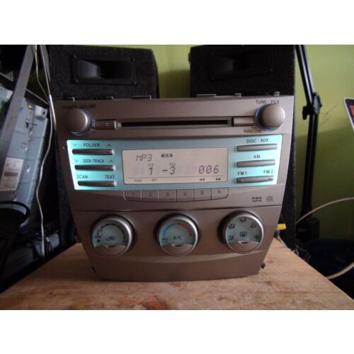 see-video-toyota-camry-0709-cd-mp3-wma-player-wclimate-controls-nonejbl-tested