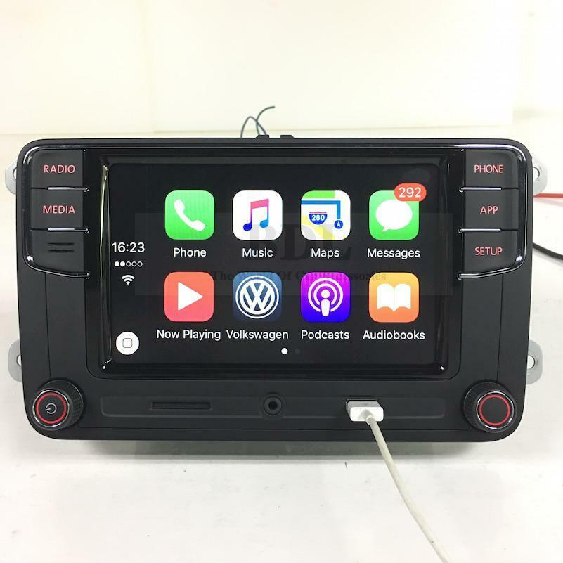 original 6 5 autoradio rcd330 rcd510 carplay bluetooth. Black Bedroom Furniture Sets. Home Design Ideas
