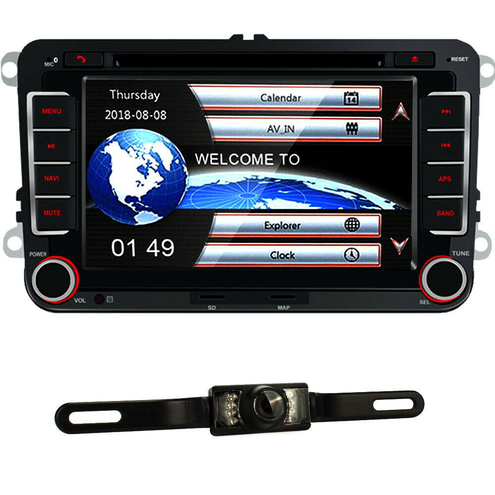 autoradio vw rns510 navigation aux cd rds bt golf passat. Black Bedroom Furniture Sets. Home Design Ideas