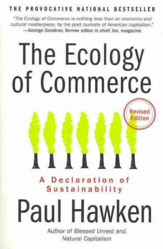 THE ECOLOGY OF COMMERCE - HAWKEN, PAUL - NEW PAPERBACK BOOK