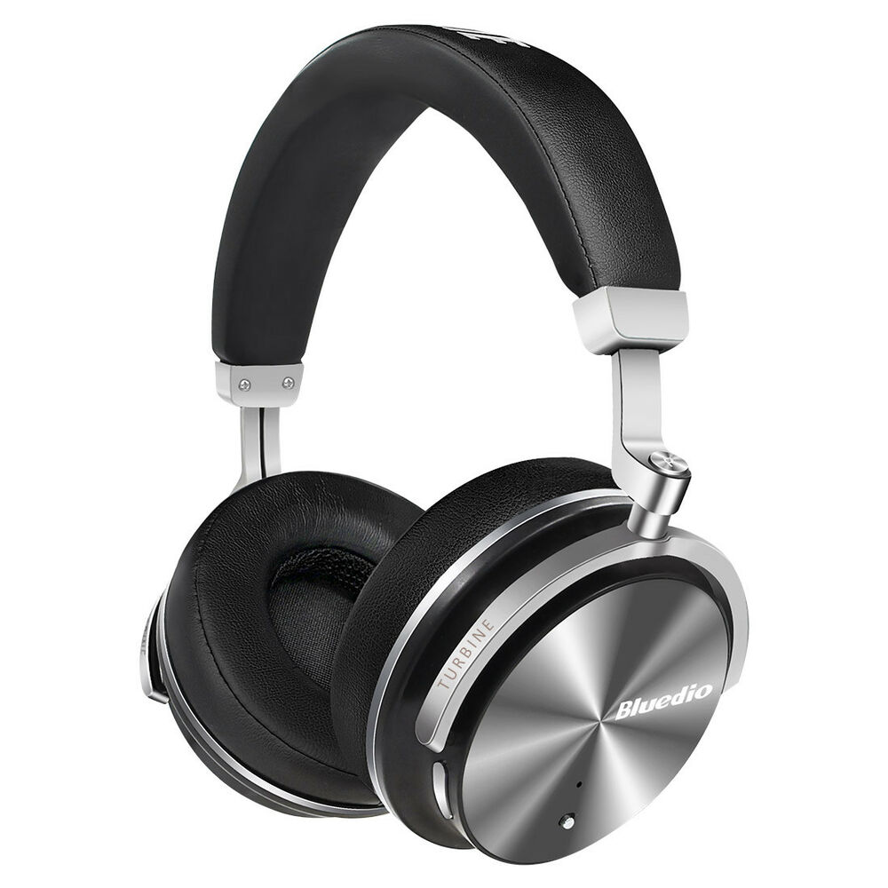 Bluedio T4S Noise Cancelling Wireless Bluetooth 4.2 Headphone Mic Headsets/Black 754047088520