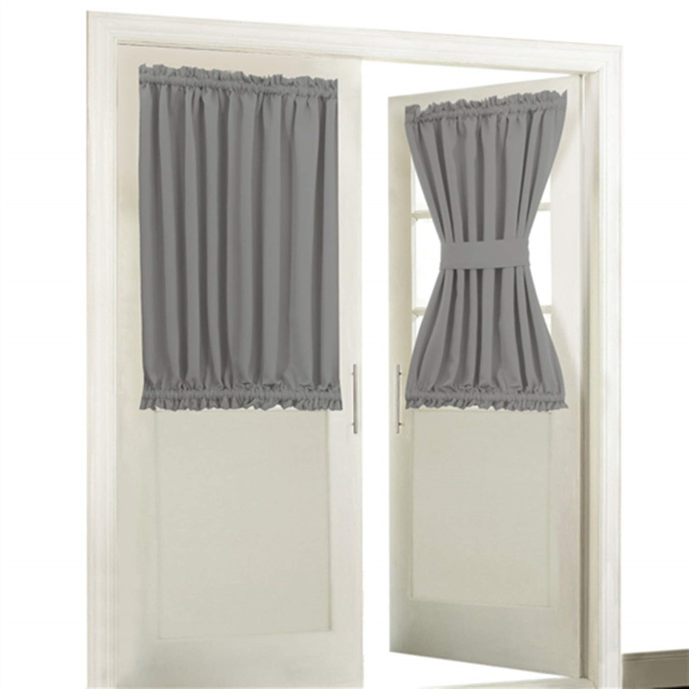 Blackout Door/ Window Curtain Panels Only For Privacy