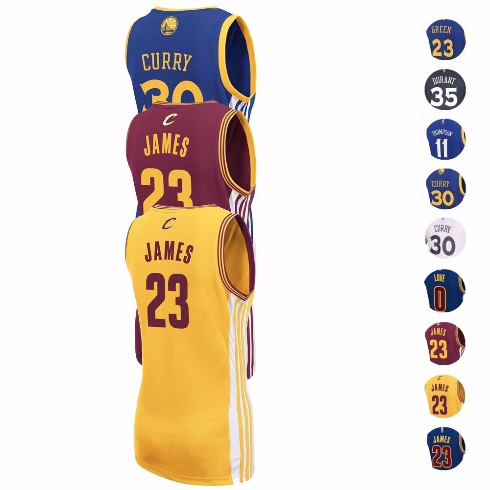 Details about NBA Adidas Golden State Warriors   Cleveland Cavaliers  Replica Jersey Women s fa38983dd