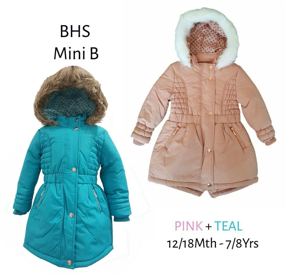 Girls Warm Winter Coat | eBay
