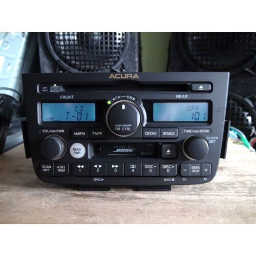 acura-mdx-2003-2004-cd-cassette-player-1fx0-bose-wcode-rear-dvd-contr-tested