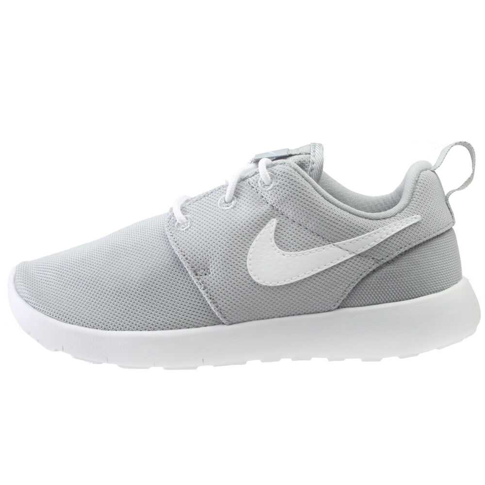 40d51a4a9228c Details about Nike Roshe One Little Kids 749427-033 Wolf Grey Athletic  Shoes Youth Size 1.5