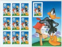 1999- DAFFY DUCK -#3307 Full Mint -MNH- Sheet of 10 Postage Stamps (With Imperf)