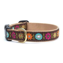 Up Country - Dog Design Collar - Made In USA - Bella Floral - XS S M L XL XXL